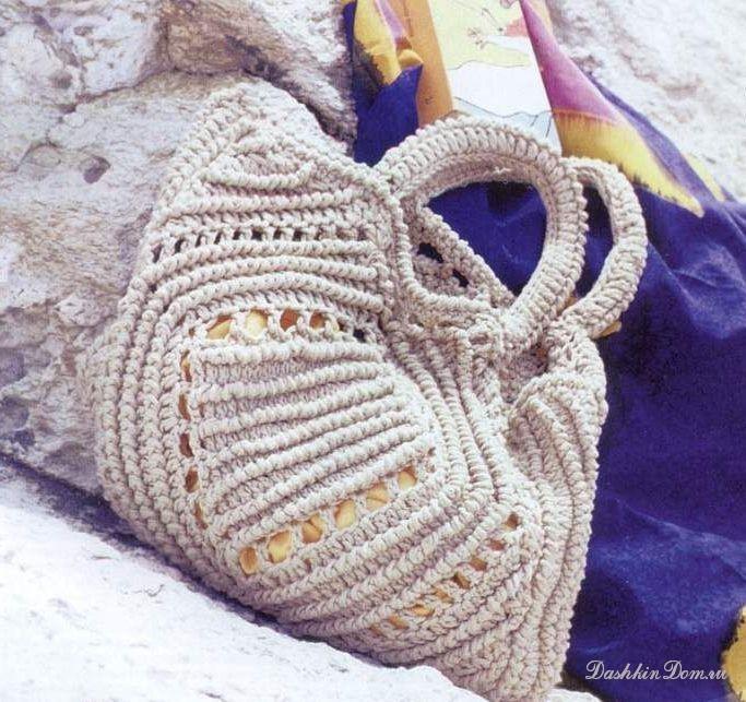 Вязание крючком со схемами. вязание спицами сумок схемы, вязаные сандали.