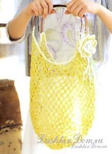 пляжная сумка крючком схема - Узоры.
