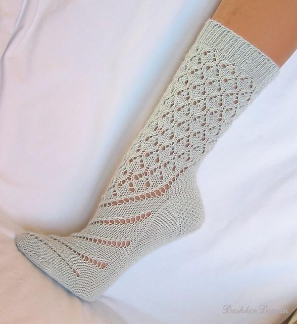 носки тапочки  Вязание спицами крючком уроки вязания