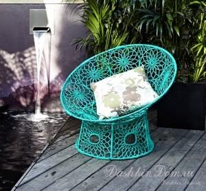 ажурное кресло