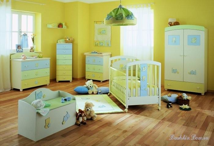 Дизайн детской для малыша фото