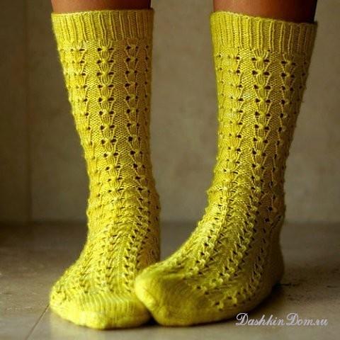 вязаные носки подборка моделей