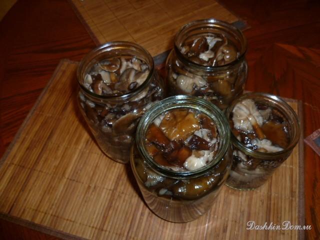 салат картошка грибы маринованные рецепт