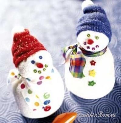 Новогодние поделки снежинок своими руками