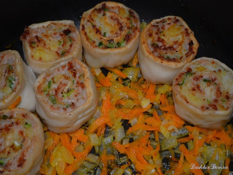 Горячее блюдо гусарики рецепт фото