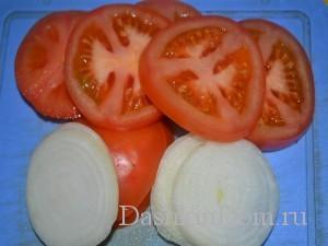 помидоры, лук для мяса