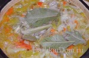 перец и лавровый лист для супа