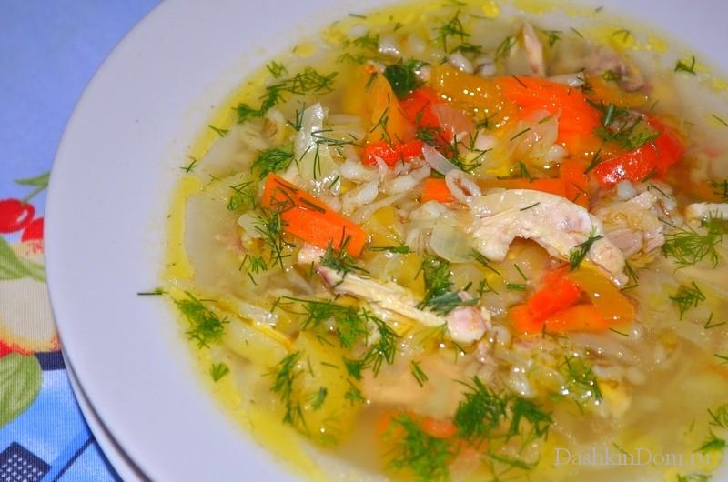 перловый суп рецепт с огурцом с фото