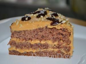 торт из фасоли рецепт с фото