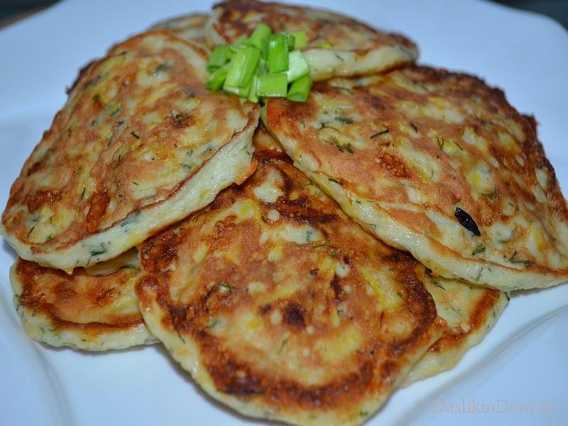 рецепт кабачковые оладьи с фото