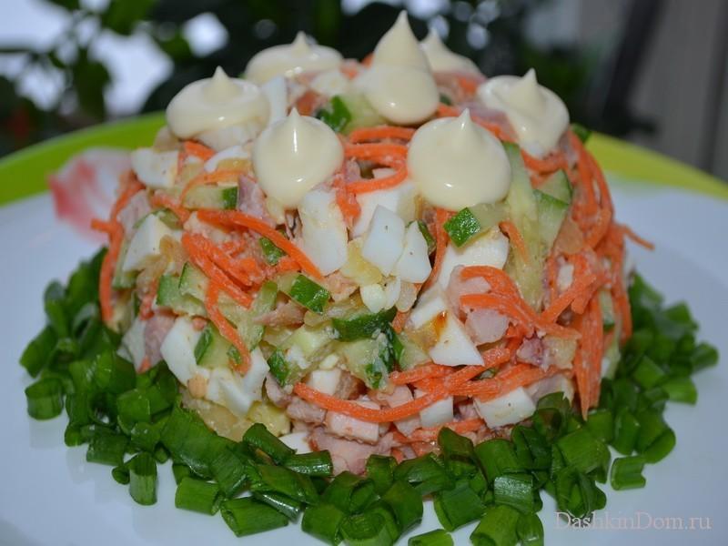 Салат из моркови по-корейски рецепты