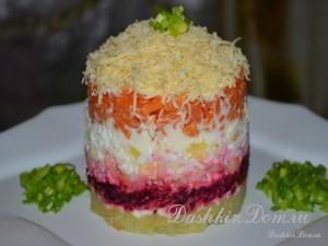 салат без мяса рецепт с фото