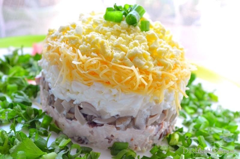 Как приготовить салат вкусный на новый год
