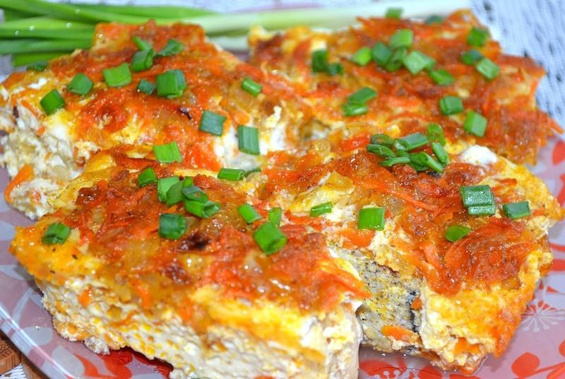 Рецепт приготовления рыбной запеканки