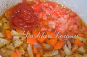 готовим свинину с овощами
