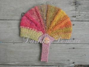 вязаня шапочка для девочки