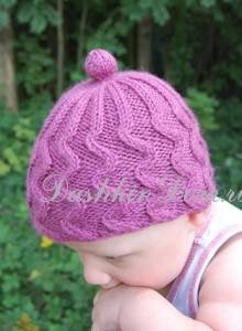 шапочка для малыша спицами