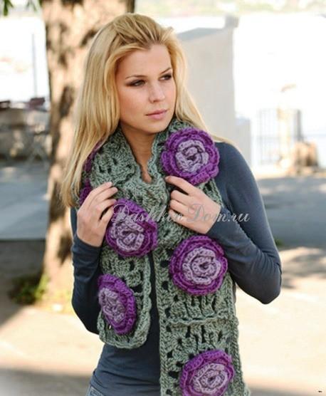 Вязание спицами для полных женщин. Схемы с описанием