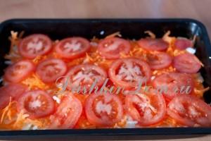 рецепт из кабачков с помидорами