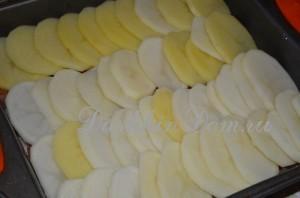 картофель запеканка