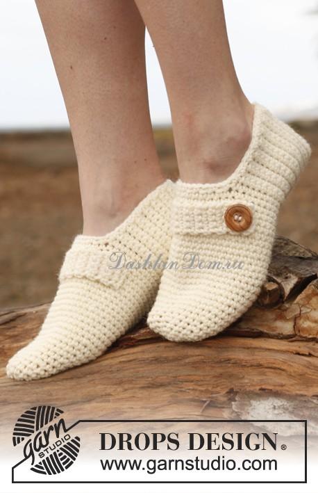 Вязание - носки, тапочки, следки | Простые схемы