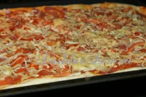 готовим пиццу быстро