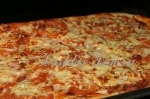 пицца вкусный рецепт