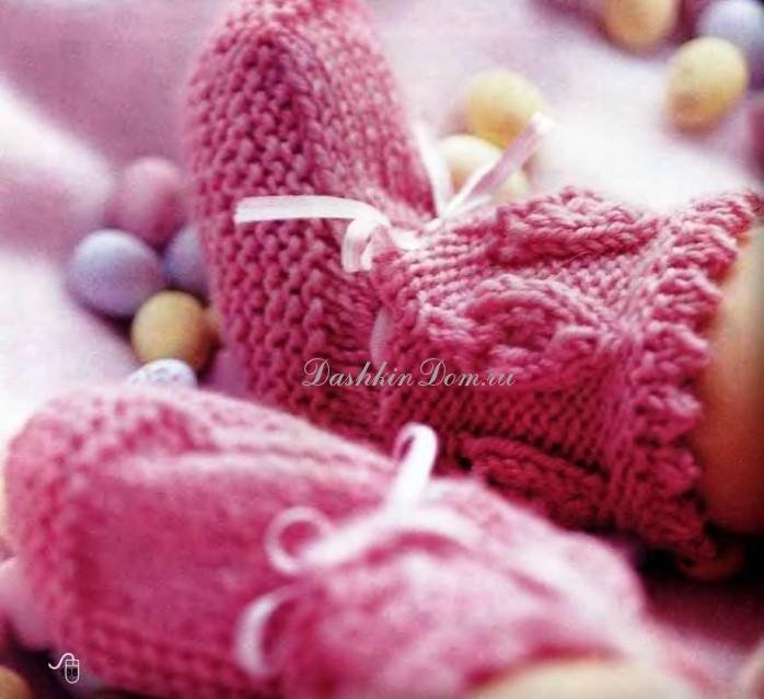 Вязание пинеток — самый